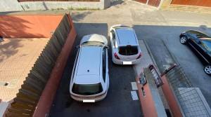 doppio posto auto privato